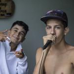 No beat e na sessão, Alfalfa e Gian