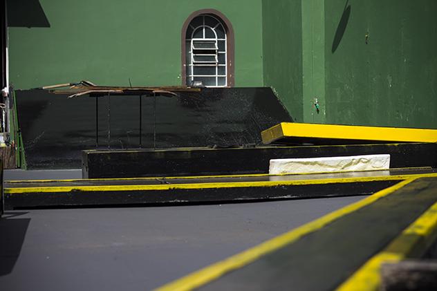 Quintal Durante a Reforma.