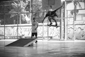 Gabriel Bs heelflip, foto: Camilo Neres.