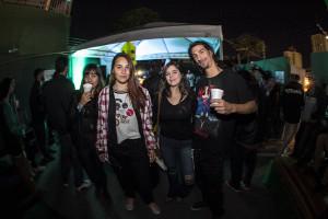 Erika, amigas e Vitão, foto: Camilo Neres.
