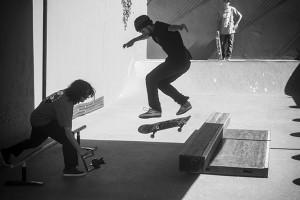 Guilherme França flip bs tailslide bigspin out, foto: Camilo Neres.