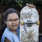 Faz uma foto minha com o skate?