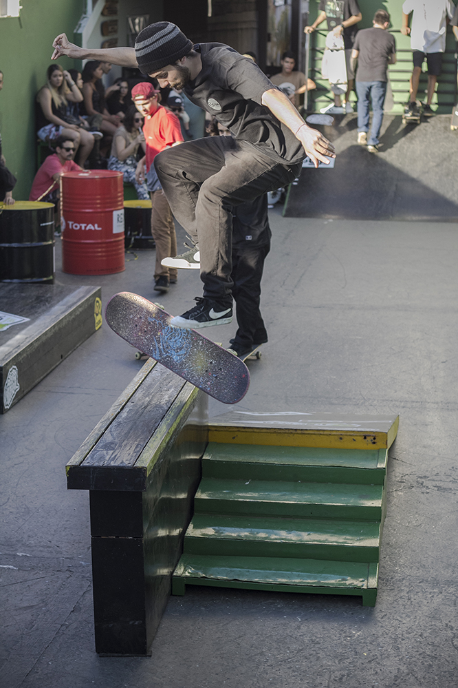 Guilherme França, 360 Flip Fifty. Foto: Camilo Neres.