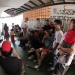 Exibição do vídeo Rema na Escola Joaquim Murtinho.