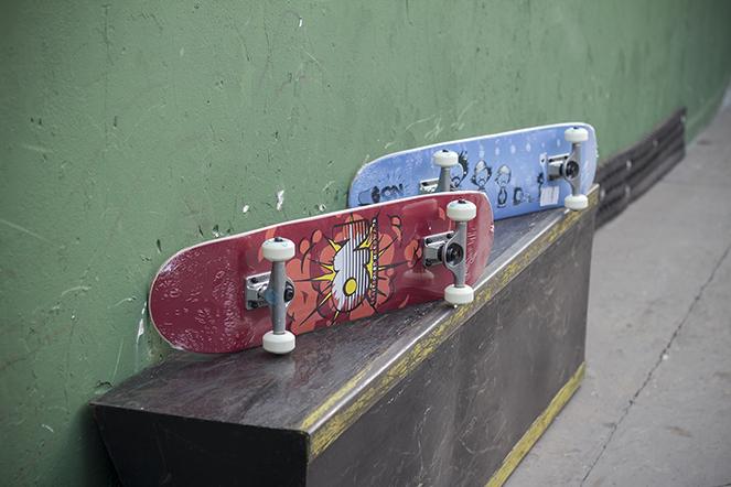 Skates ON.