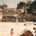 Campeonato de skate realizado pela Posso! Skate Shop na Escola Estadual Prof. João Gonçalves Barbosa em Caçapava - SP em 1987