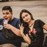 Bruno Santos e Ariane