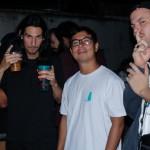 Vitor, Piruca e Guilherme Cantieri