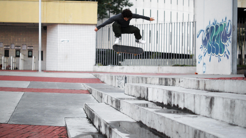 Gibson, fakie flip foto: Serginho Lorena