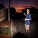Rizzi e o por do sol Campograndense